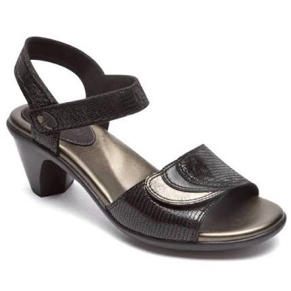 Aravon Shoes - Aravon Medici Women's Sandal Black